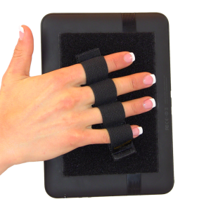 4 Loop Tablet or Reader Grip - Black