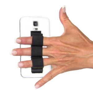 3-Loop Phone Grip - Black
