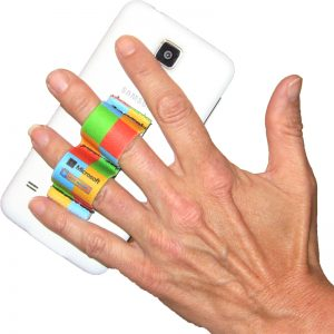 2-Loop Phone Grip - Rainbow Colors