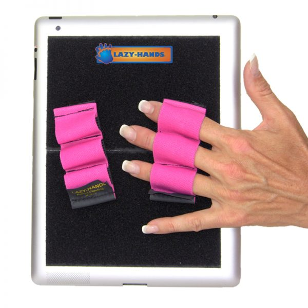 Heavy-Duty 3-Loop Grip (x2 Grips) - Pink