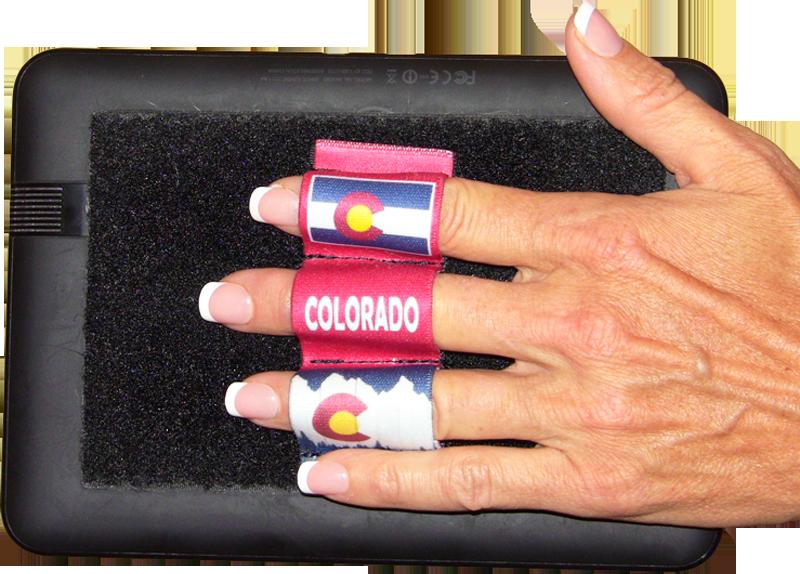 Colorado Red Heavy-Duty 3-Loop Grip (x1 Grip)