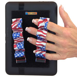 4 Loop Tablet or Reader Grips (x2) - Flags