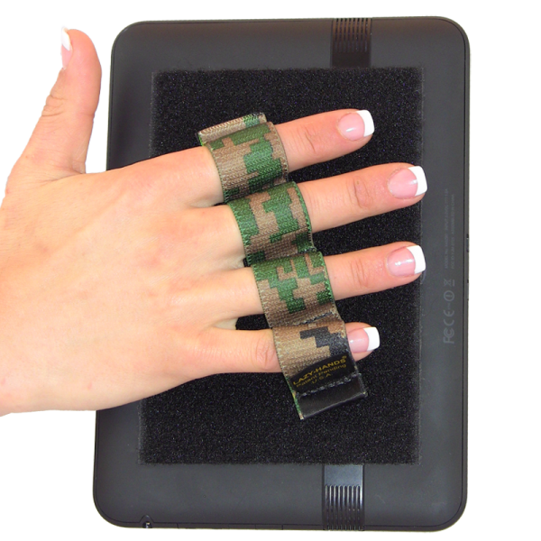 4 Loop Tablet and Reader Grip - Camouflage