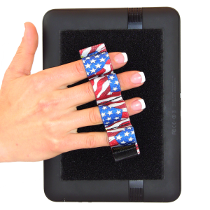 4 Loop Tablet and Reader Grip - Flags