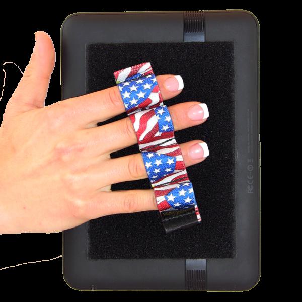 4 Loop Tablet and Reader Grip - Flags