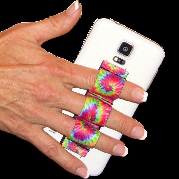 3-loop phone grip Tie Dye 2
