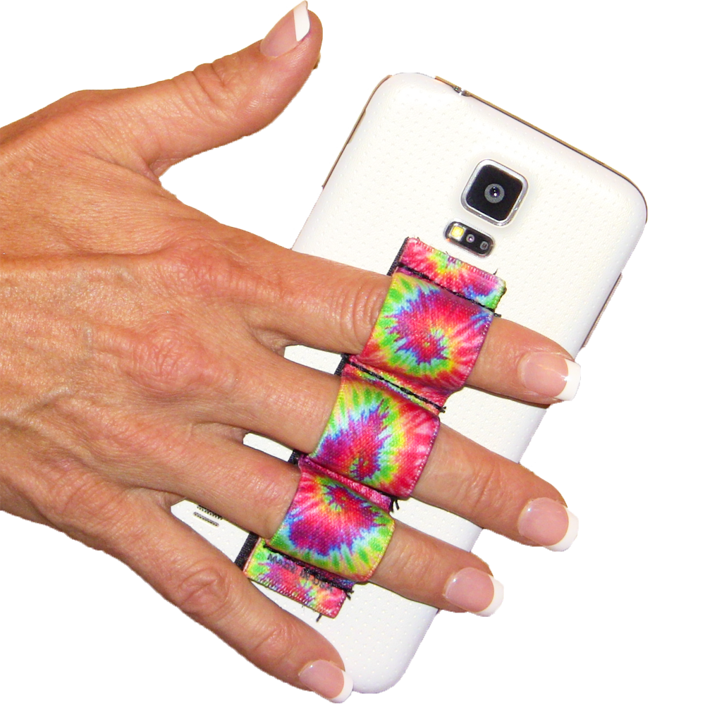 3-loop phone grip Tie Dye 2