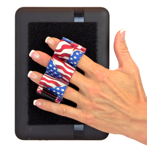 Heavy Duty 3-Loop Tablet Grip - Flags