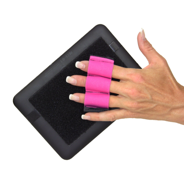 Heavy Duty 3-Loop Tablet Grip - Pink