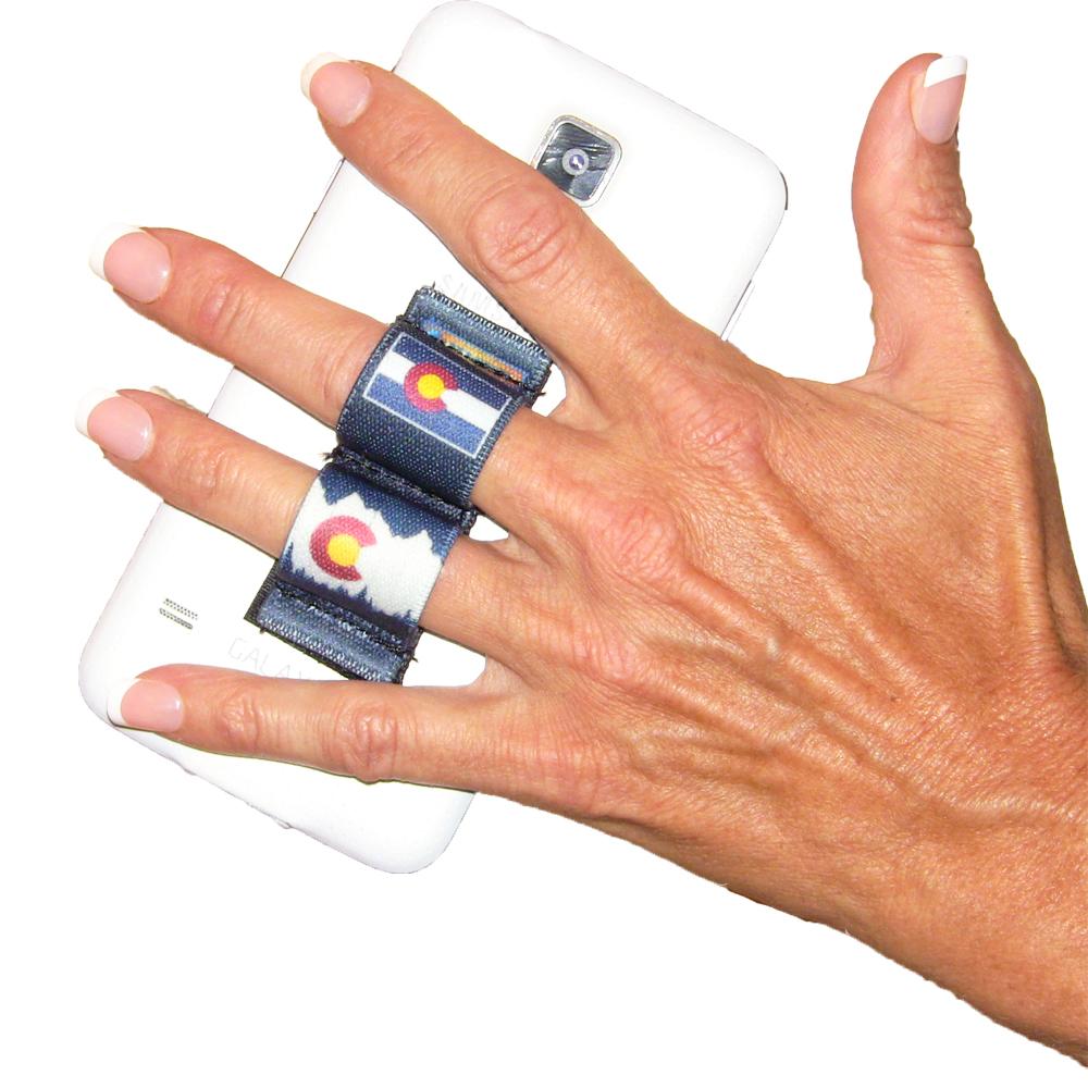 2-Loop Phone Grip - Colorado Blue