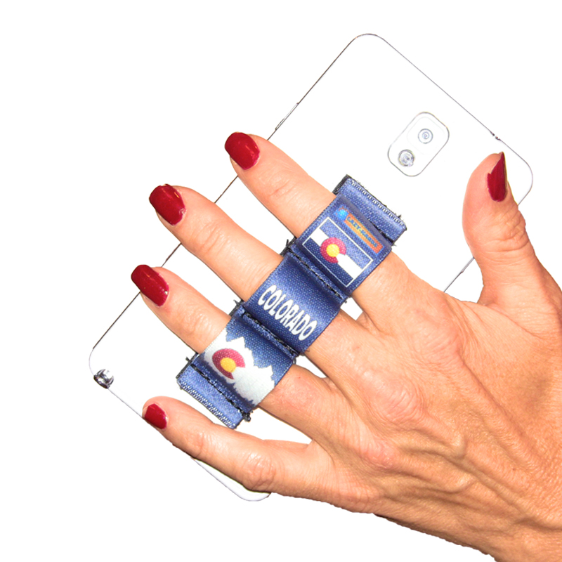 3-Loop Phone Grip - Colorado Blue