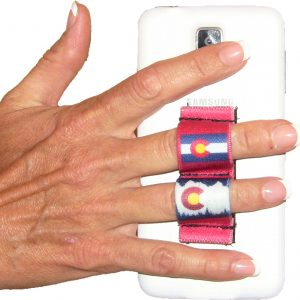 2-Loop Phone Grip - Colorado Red