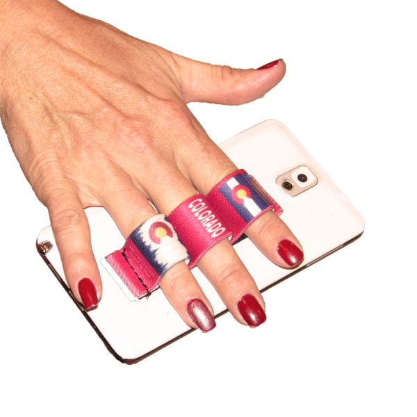 3-Loop Phone Grip - Colorado Red