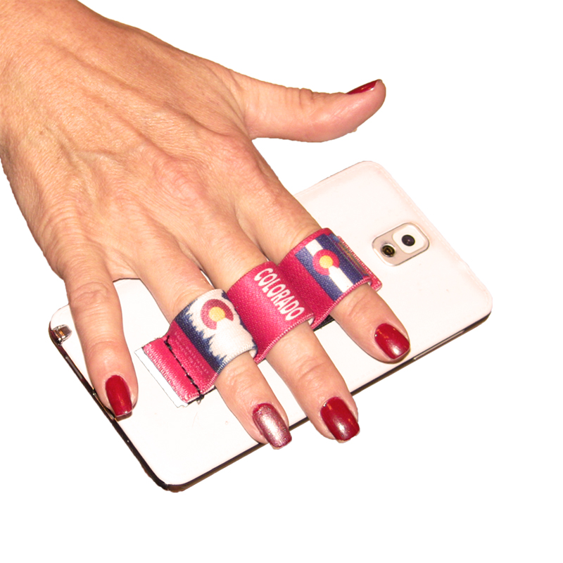3-Loop Phone Grip - Colorado Red