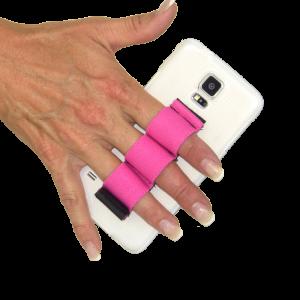 3-Loop Phone Grip - Pink