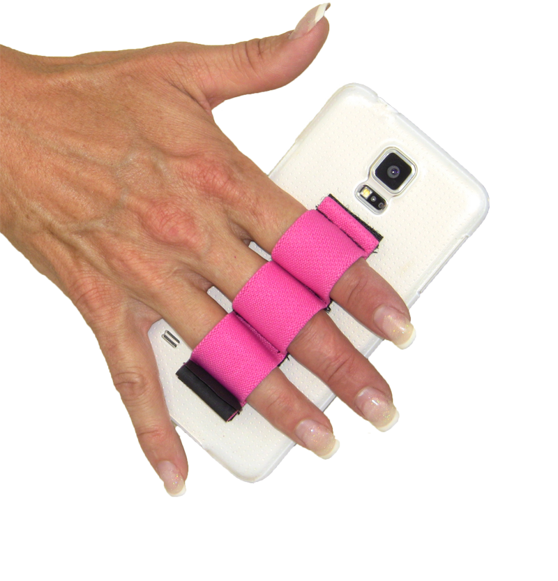 3-Loop Phone Grip - Pink