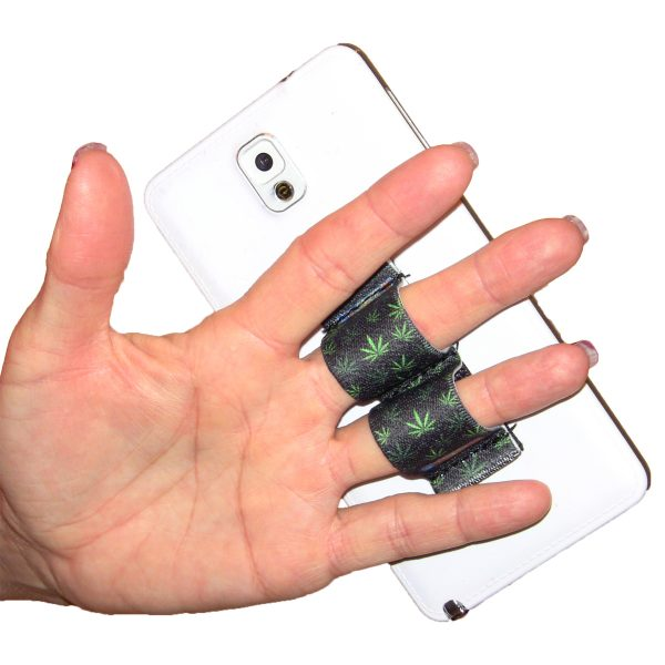 2-Loop Phone Grip - Pot Leaf 2