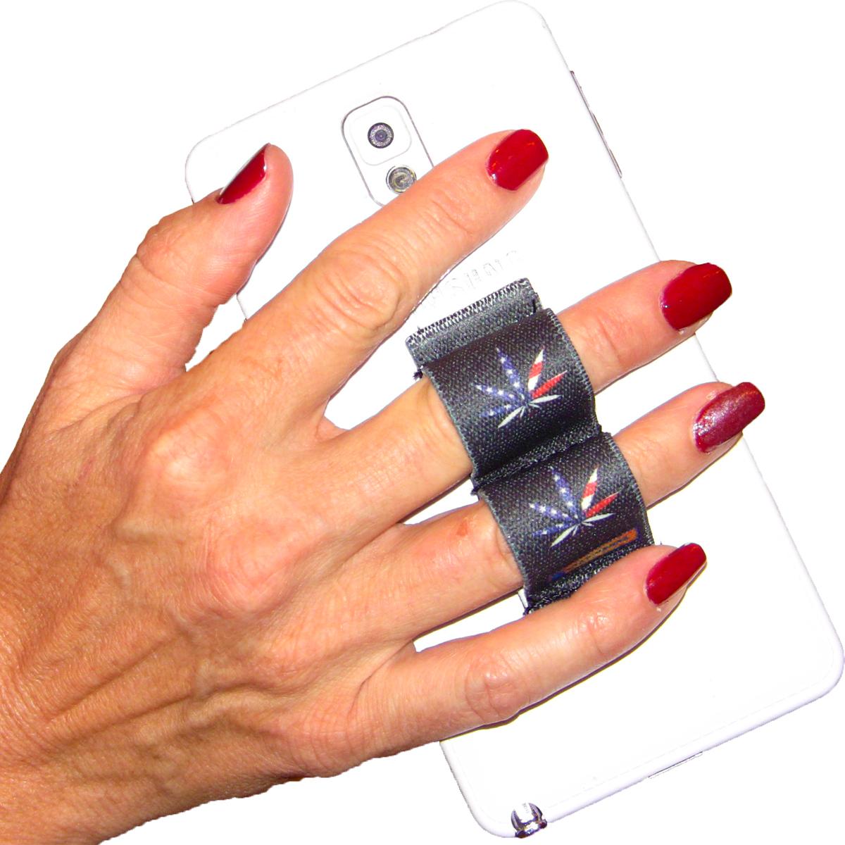 2-Loop Phone Grip - Pot Leaf USA