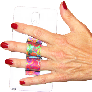 2-Loop Phone Grip - Swirls