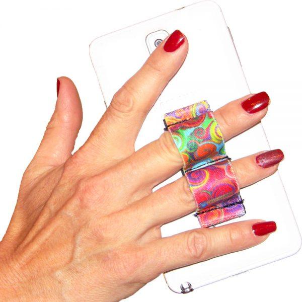 2-Loop Phone Grip - Swirls