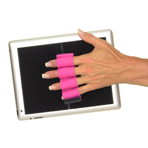 Heavy-Duty 4-Loop Grip (x1 Grip) for Tablets - Pink