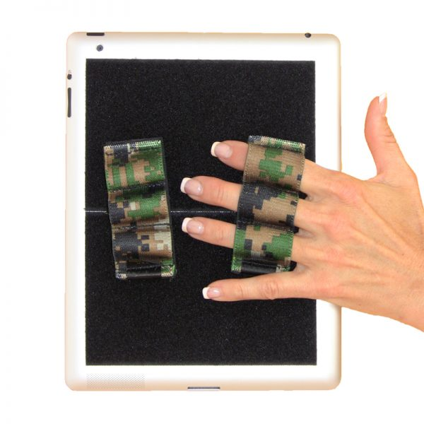Heavy-Duty 3-Loop Grip (x2 Grips) - Camouflage
