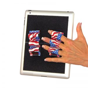 Heavy-Duty 3-Loop Grip (x2 Grips) - Flags