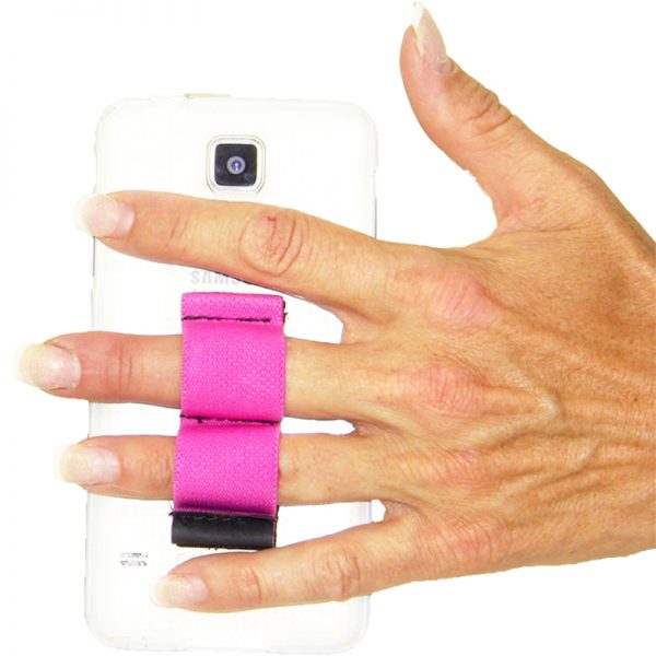 2-Loop Phone Grip - Pink