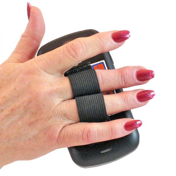 2-Loop Phone Grip - Black