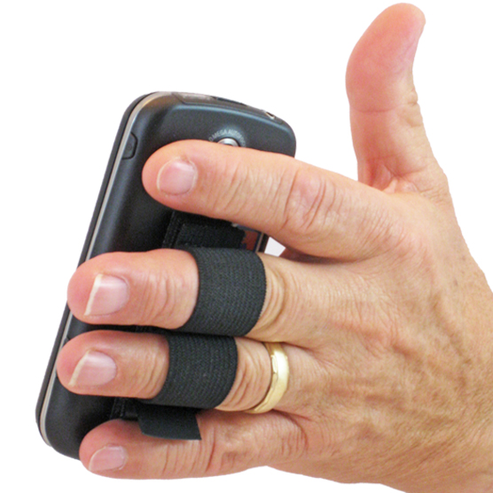 2-Loop Phone Grip - Black