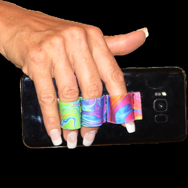 3-Loop Phone Grips PG3 - Oil Paints