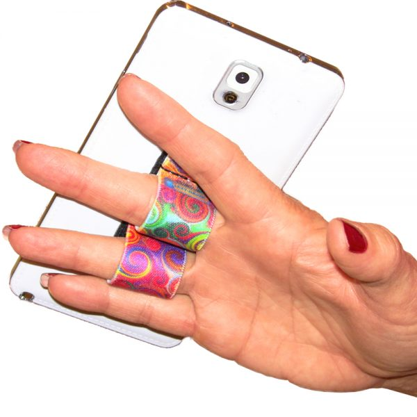 2-Loop Phone Grip PG2 Swirls
