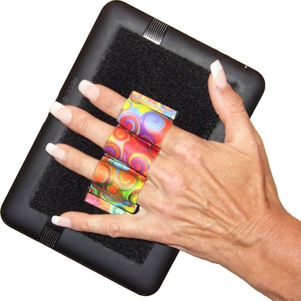 Swirls Heavy-Duty 3-Loop Grip (x1 Grip) for eReaders RG3x1 Reader Grip