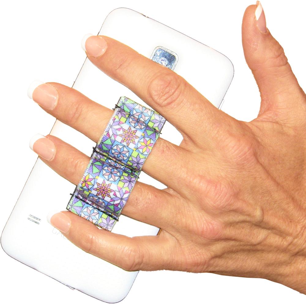2-Loop Phone Grip - Quilter Design