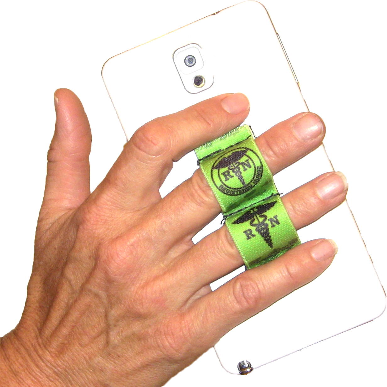Nurse RN Green Phone Grip