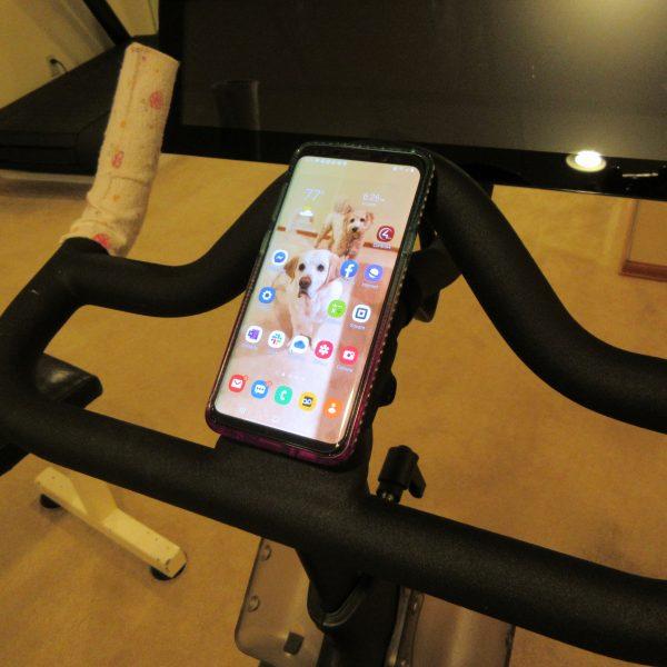 Peloton Bike Phone Holder Phone Mount Accessory