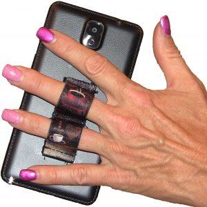 LAZY-HANDS Grips 2-Loop Phone Grip - Coffee Love PG2